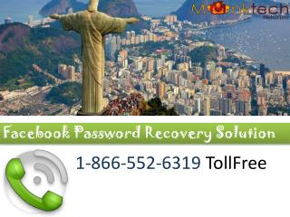 Facebook Reset password  1(866)552-6319