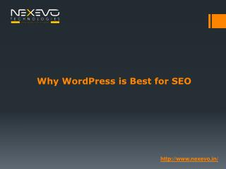 Why WordPress is Best for SEO