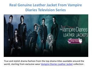 Use Television Fashion Jacket From Vampire Diaries Characters