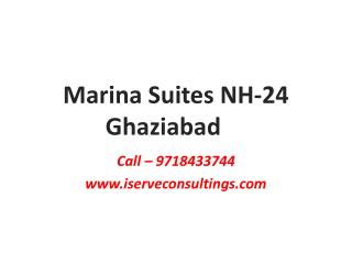 Marina suites NH-24 ghaziabad Palm Infra -9958155680