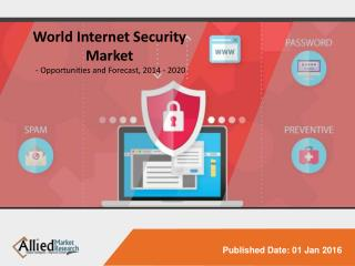 World Internet Security Market - Opportunities and Forecast, 2014 - 2020