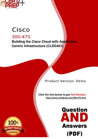 300-475 Cisco Exam PDF Material