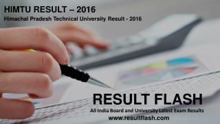 Himtu Result - Result Flash | Resultflash.com