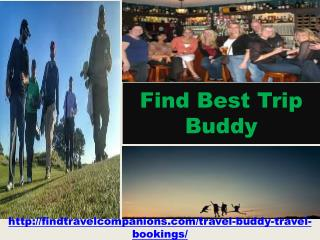 Find Best Trip Buddy