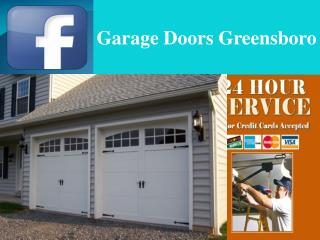 Garage Door Spring Repair Greensboro, North Carolina