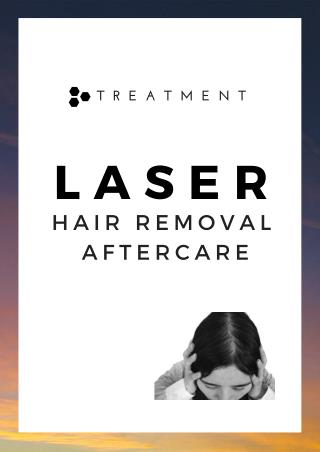 Laser hair removal Aftercare