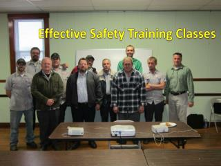 Effective Safety Training Classes
