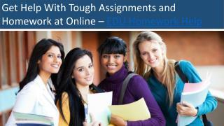 Online Assignment Help.Homework Help Online - EDU Homework Help