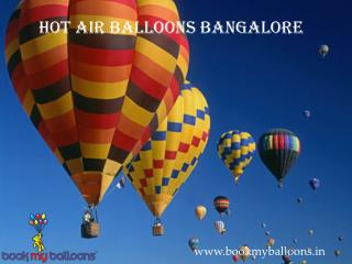 Hot Air Balloons Bangalore