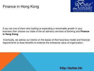 Finance In Hong Kong