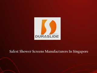 Shower Screen Singapore