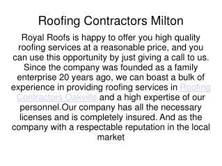 Roof Repair Oakville