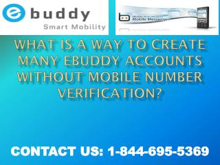 1-844-202-5571 Ebuddy mailTechnical Support Number