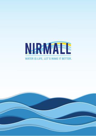 Nirmal Brochure Vortexed Water Pipes