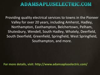 Residential Electrical Design and Installation
