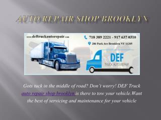 Auto repair shop Brooklyn