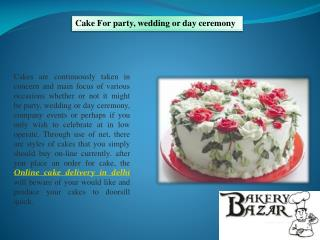 Order birthday cake online |Cake home delivery in Delhi
