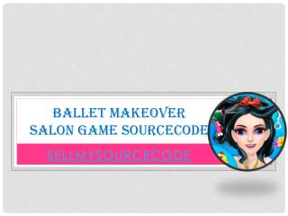 Ballet Makeover Salon Game Sourcecode