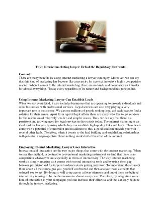 Gordon Law Group | Abundantly Skilled Internet Marketing Lawyer