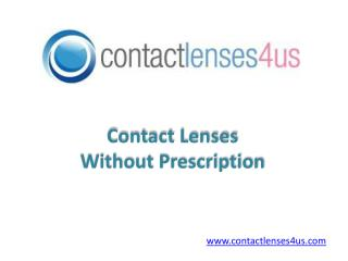 Shop Contact Lenses without Prescription Online