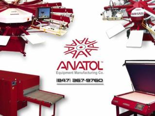 Professional Screen Printing Machine Equipment Manufacturers- Anatol