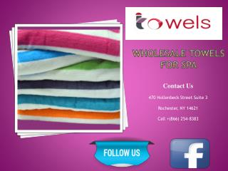 Wholesale Towels For Spa