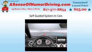 Self Guided System In Cars