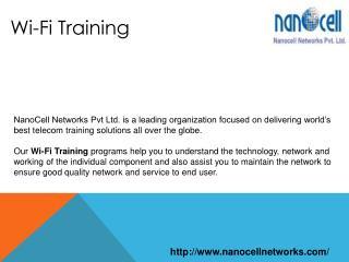 Wi-Fi Training