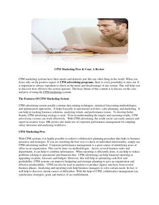 Adsnik Media | Strategies That Will Make CPM Marketing Work