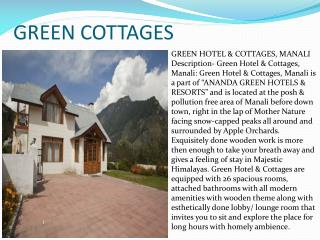 Green Cottages