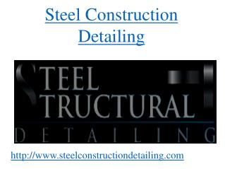 Rebar Detailing -  Steel Construction Detailing