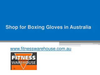 Shop for Boxing Gloves in Australia - www.fitnesswarehouse.com.au
