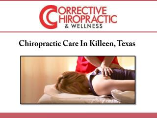 Chiropractic Care In Killeen, Texas