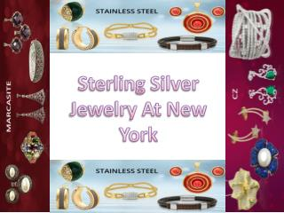 Sterling Silver Jewelry Wholesale New York