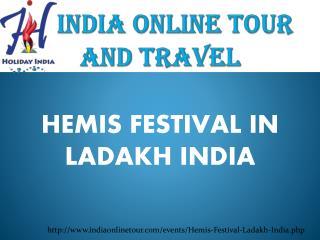 Hemis Festival Ladakh India 2016
