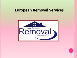 Removals to France | European Removals Services