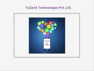 FuGenX - Mobile apps and games development company in Canada.