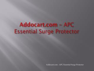 APC Essential P8U2-IN Surge Protector