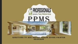 Questions To Ask Before Hiring House Painter Brisbane