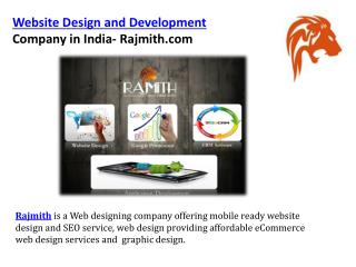 Rajmith website design and development company in india