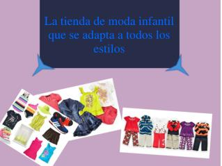 La tienda de moda infantil que se adapta a todos los estilos