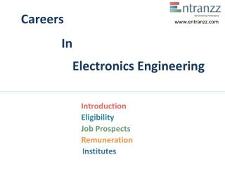 Careers In Electronics Engineering