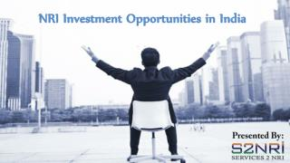 NRI Investment Opportunities in India