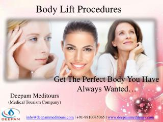 Body Lift Surgery @ Affordable Rate