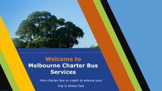 Melbourne Charter Bus Services