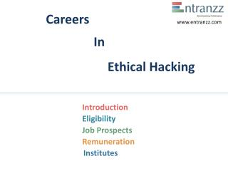 Careers In Ethical Hacking