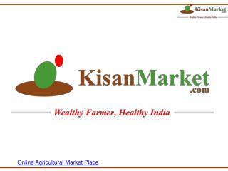 Online Agricultural Market Place