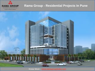 Rama Group - Residential Projects in Pune