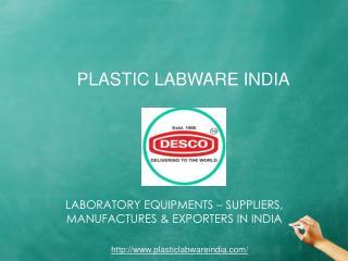 Plastic Labware Models Set