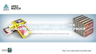 Apex Match Consortium (INDIA) Pvt Ltd.